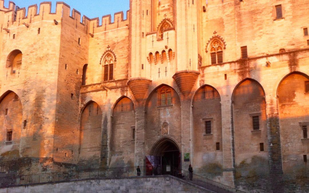 Un roi en son Palais d'Avignon