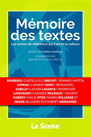 Mémoire des textes